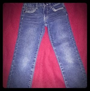 Jeweled girls Jean's. Size M5